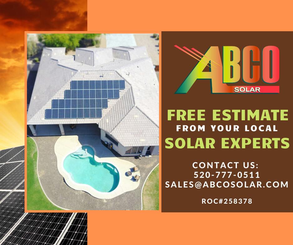 Free Solar Estimate