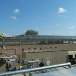 Commercial Solar Installation