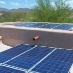 Flat Rooftop Solar Install