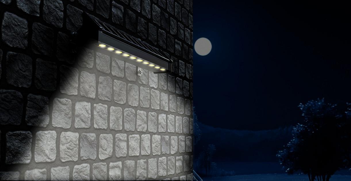 led solar wall washer light abco solar inc