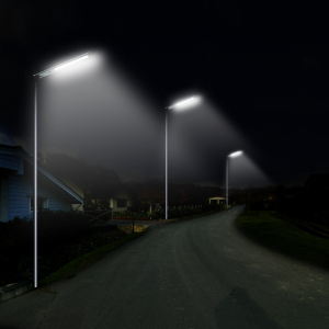 Solar Street Light Night