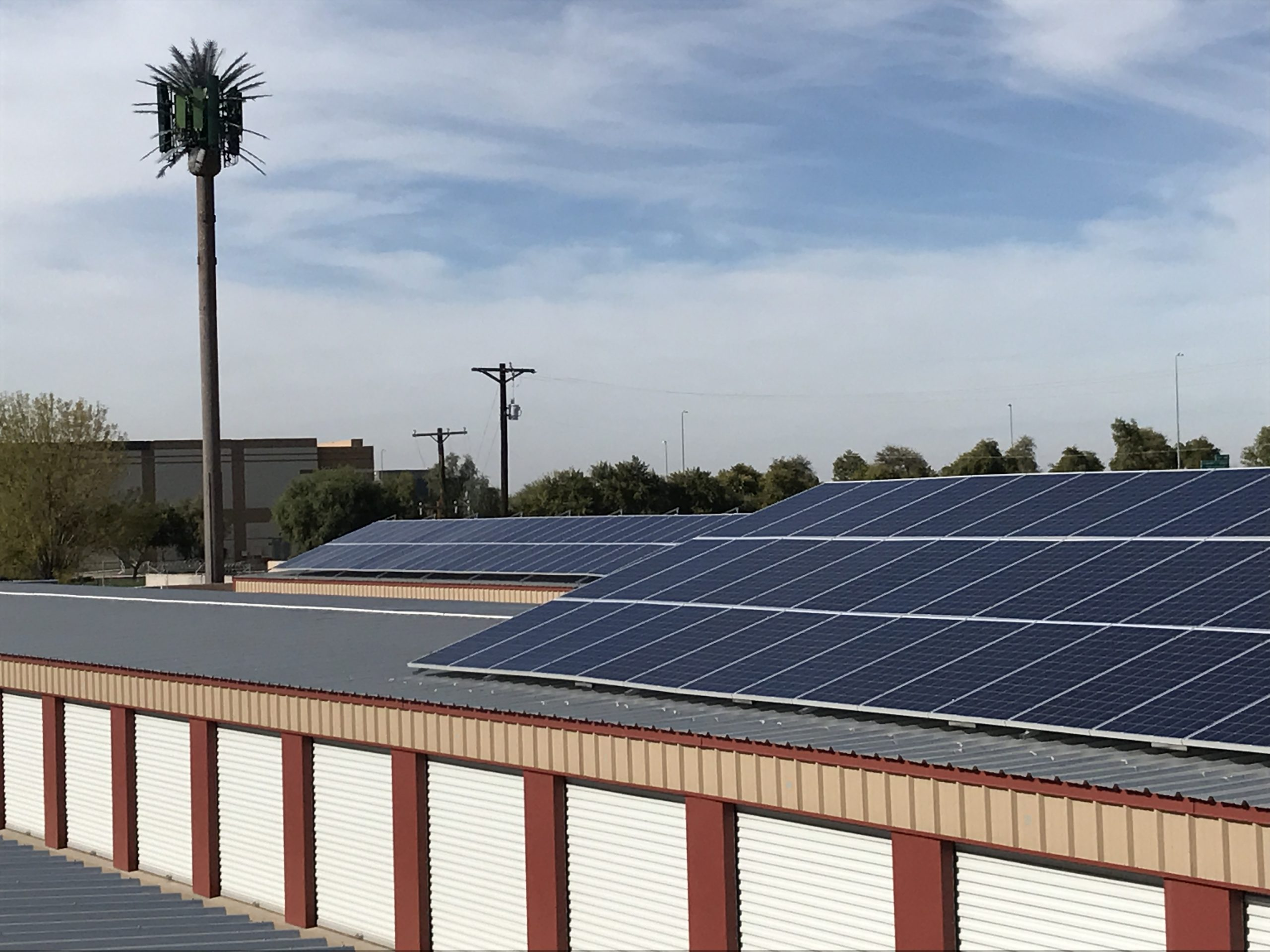 Commercial Metal Roof Mounted Solar System